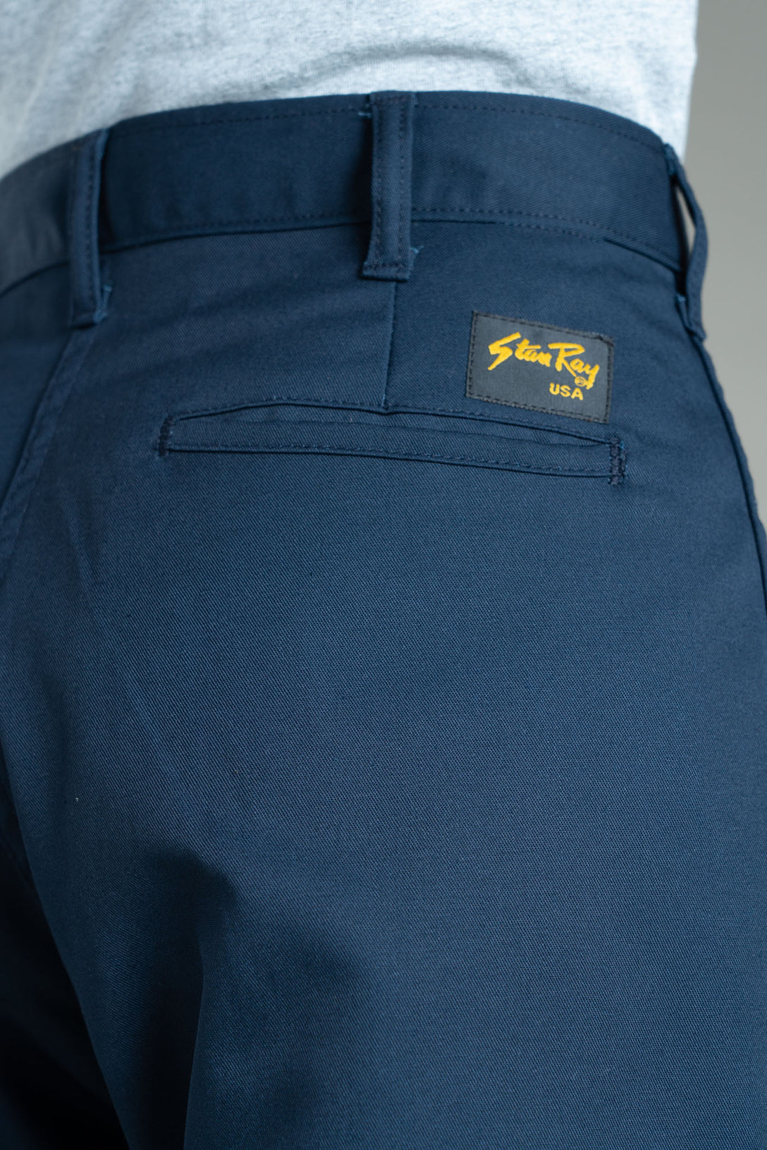 Easy Chino (Navy Twill) - Stan Ray