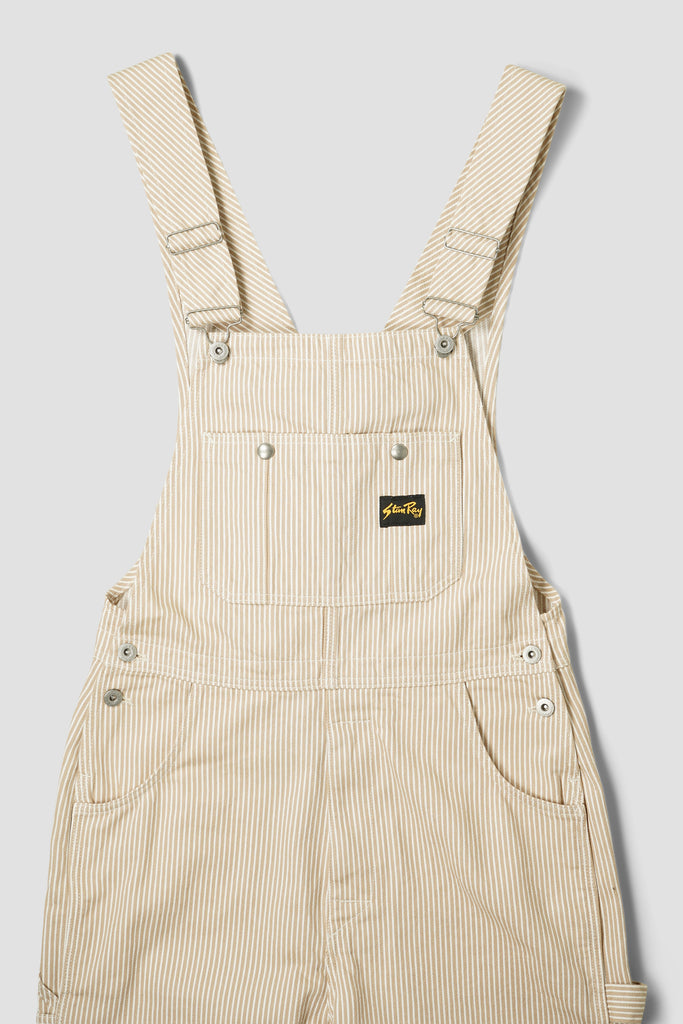 Earls Bib (Khaki Hickory)
