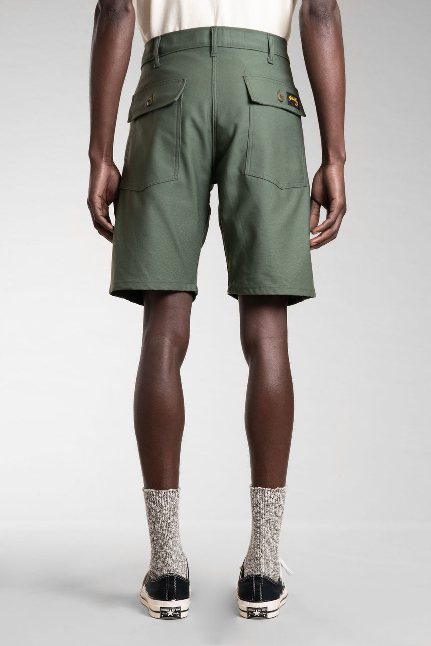 Fatigue Short (Olive Sateen) - Stan Ray