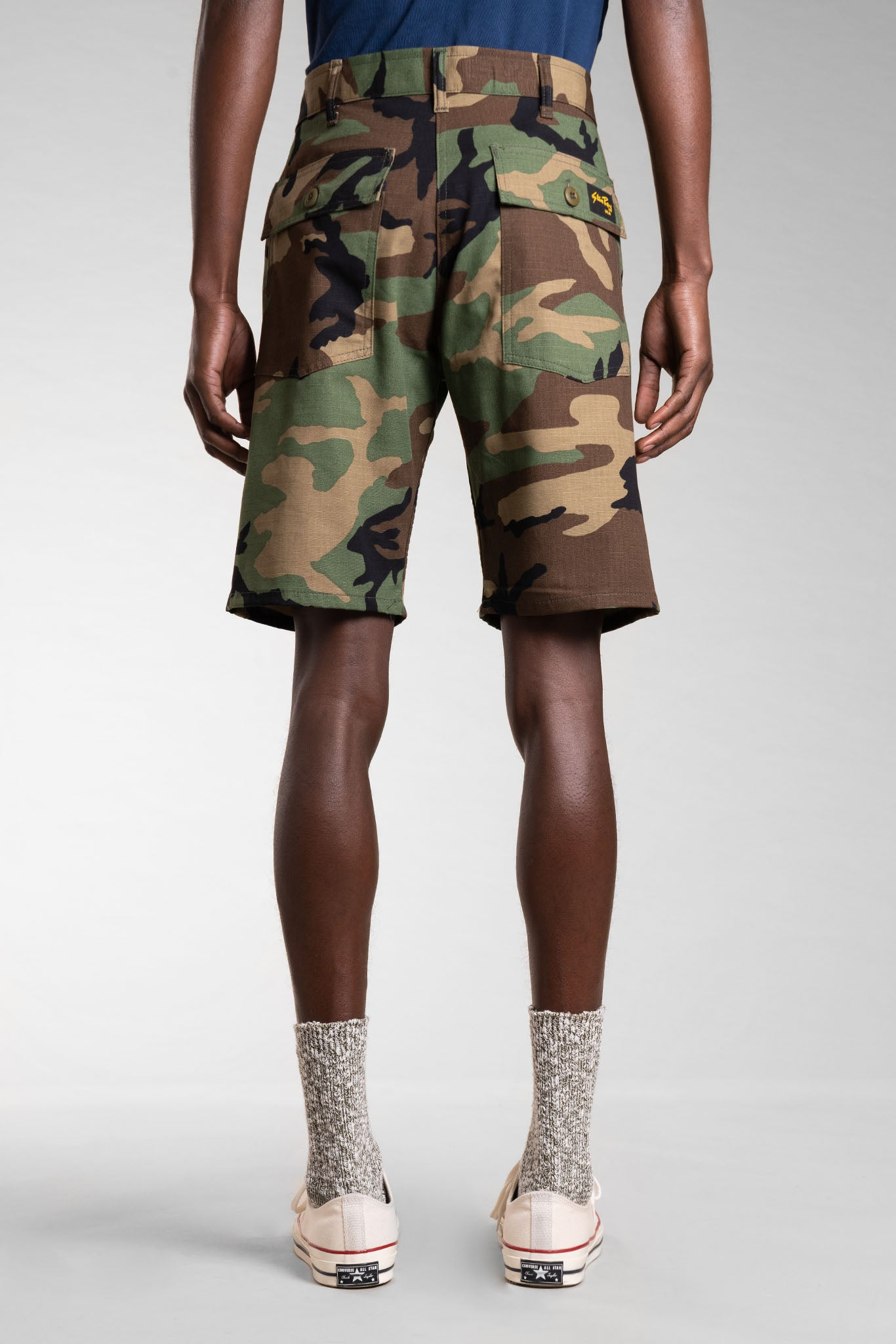 Fatigue Short (Woodland Camo) - Stan Ray