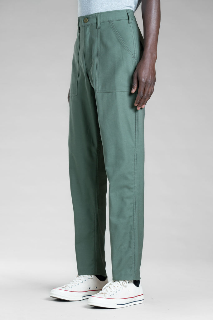 Slim Fatigue (Olive Sateen) - Stan Ray