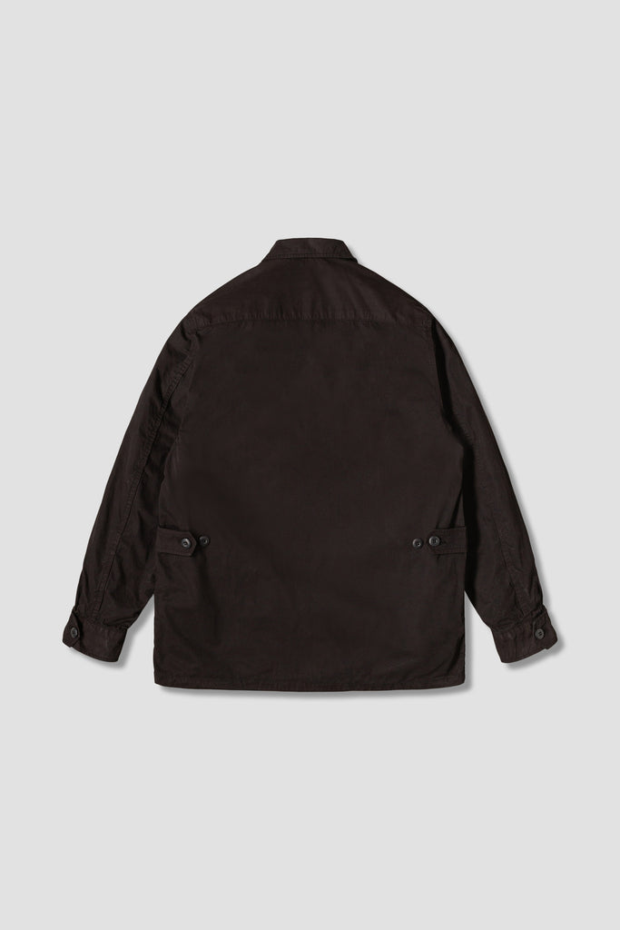 Tropical Jacket (Black Poplin)