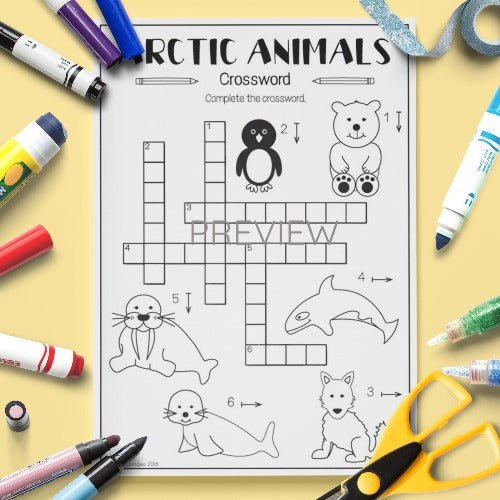 Arctic Animals 'Crossword'