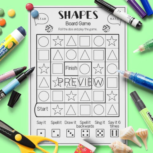 Shapes 'Board Game'