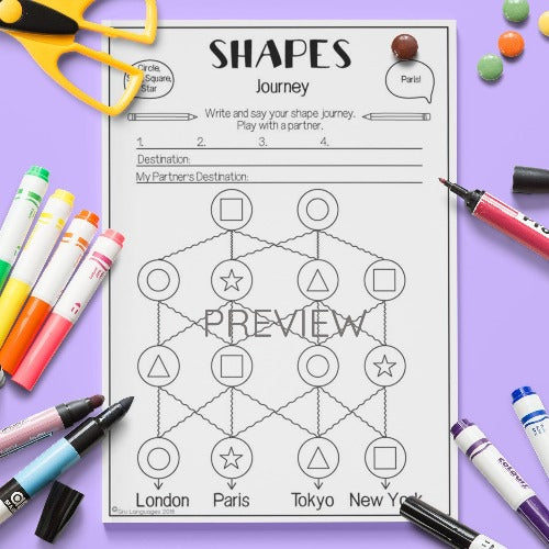Shapes 'Journey' Game