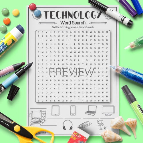 Technology 'Word Search'