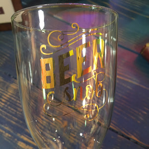 Beer Snob Glass