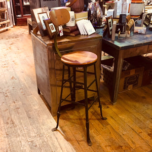 Large Industrial Stool
