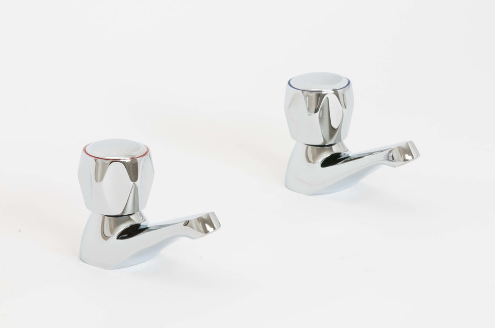 Skara Standard Contract Basin Pillar Taps