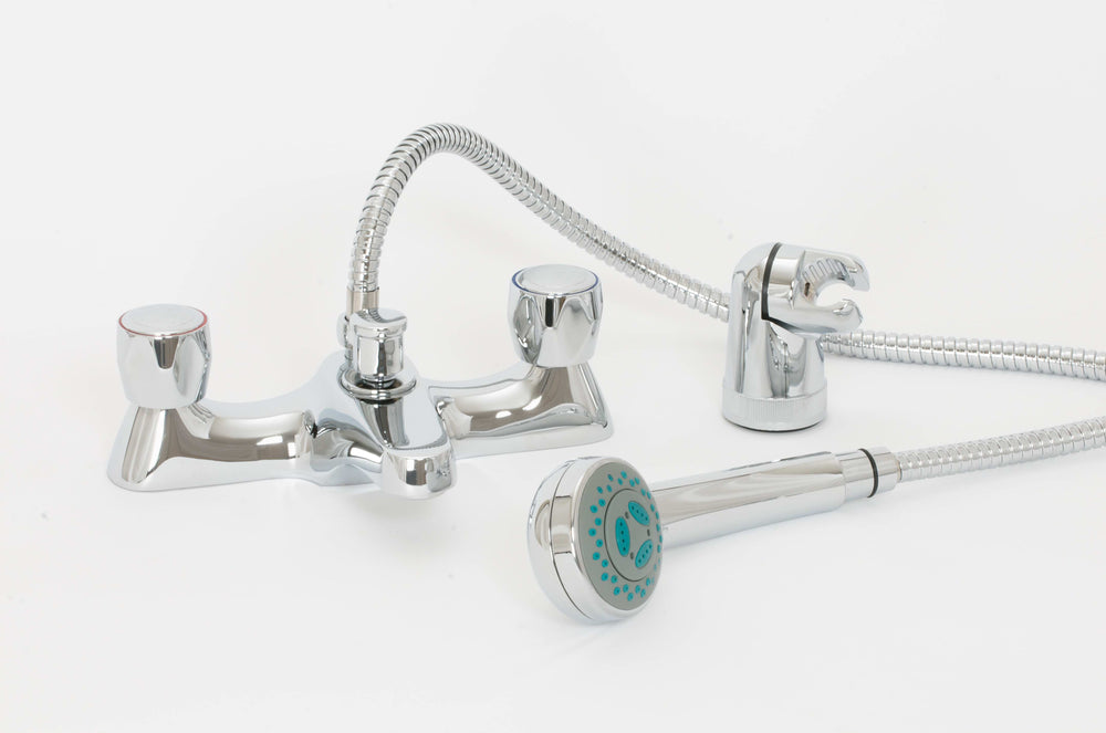 Skara Standard Contract Deck Bath Shower Mixer And Shower Kit