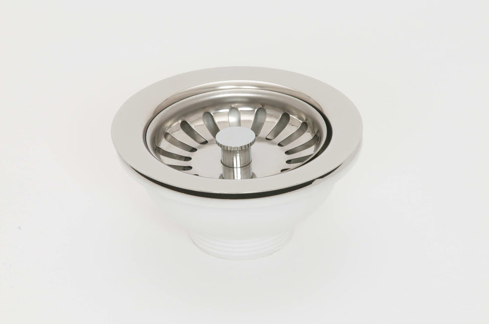 ASP 1.5'' Basket Strainer Waste Stainless Steel - No Overflow