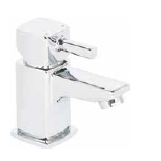 Skye Cloakroom Mono Basin Mixer And Push Waste