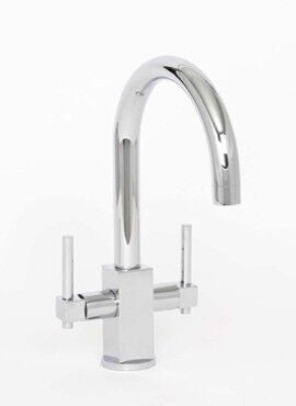 Crail Twin Lever Sink Mixer CP