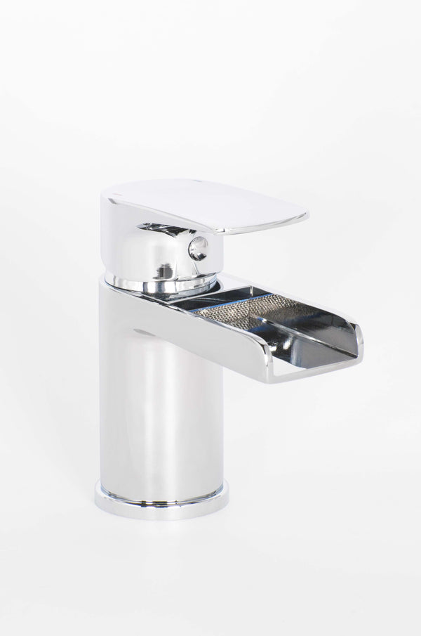 Alford Cloakroom Mono Basin Mixer And Push Waste