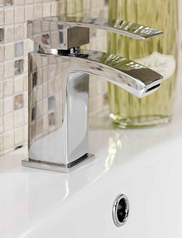Lauder Mono Basin Mixer & Push Waste CP