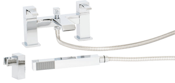 Glenluce Bath Shower Mixer And Shower Kit