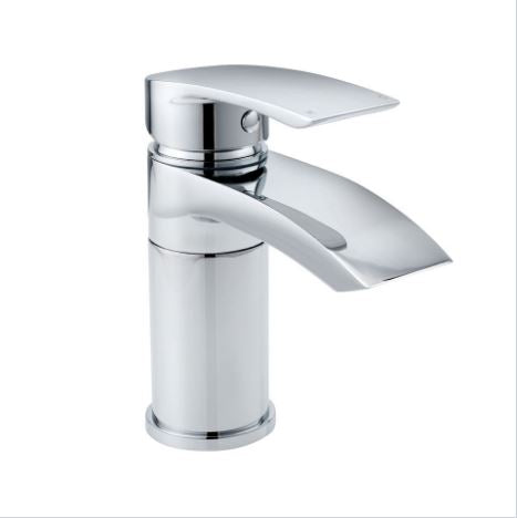 Coll Swivel Spout Mono Basin Mixer And Push Waste