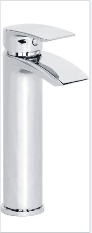 Coll Tall Basin Mixer And Push Waste