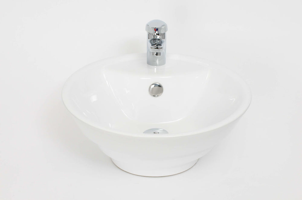 Jura 107 435mm 1TH Counter Top Washbasin