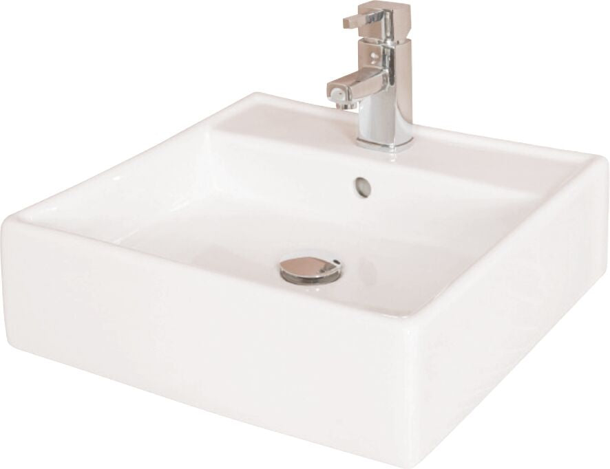 Oban 470 Square Wall Cloak/Sit on Basin