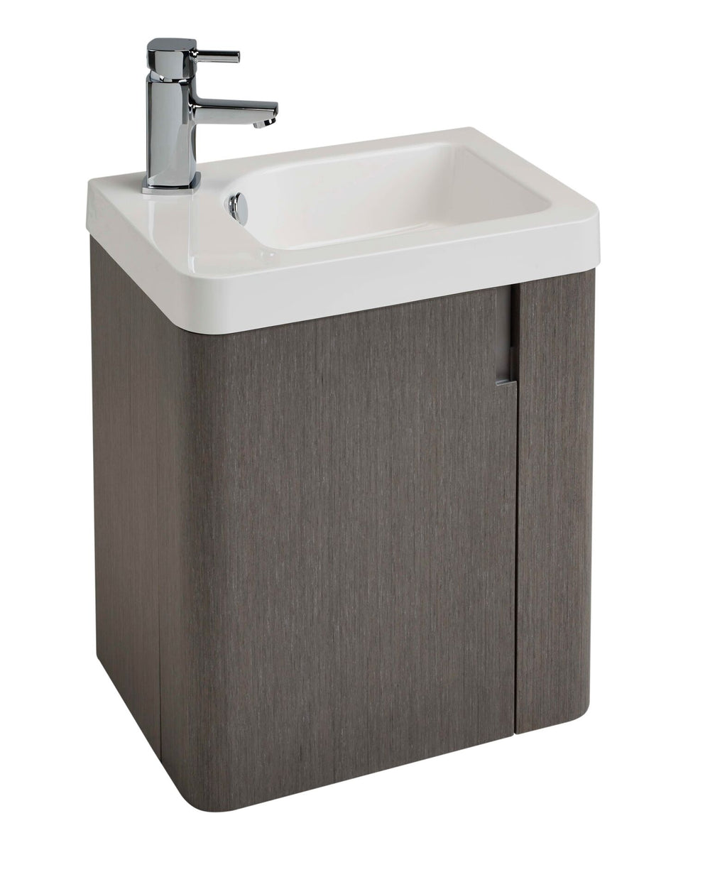 Cara 450 WH Basin Unit ASH GREY