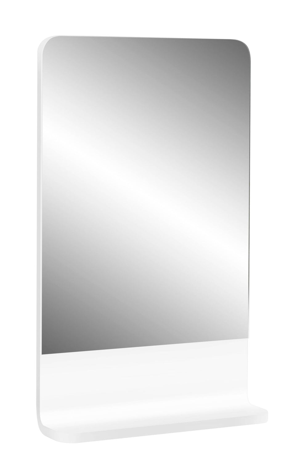 Cara 450 Mirror Shelf WHITE