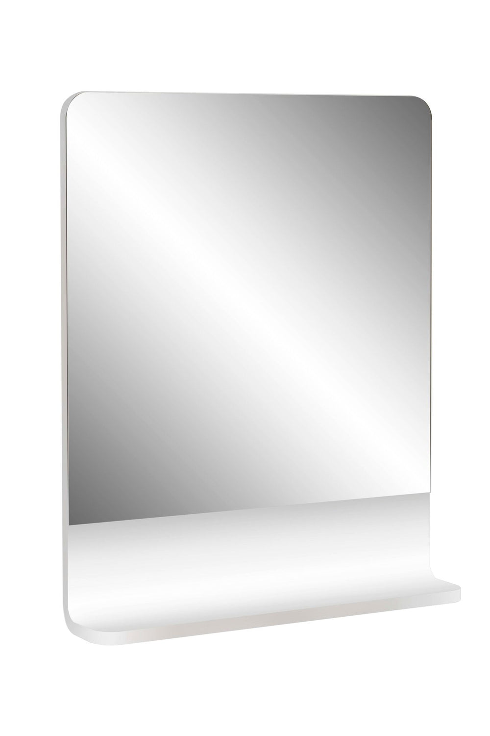 Cara 600 Mirror Shelf WHITE