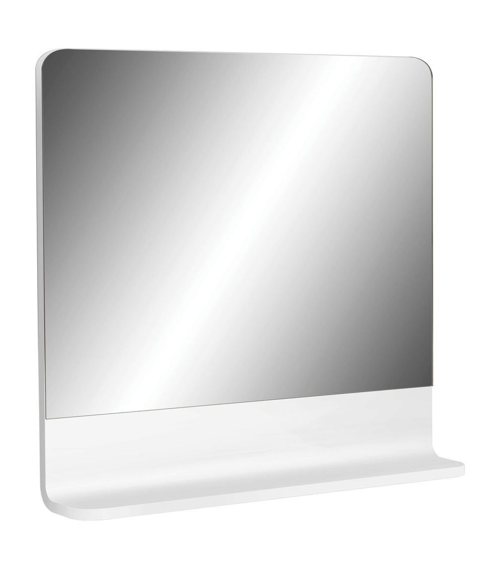 Cara 750 Mirror Shelf WHITE