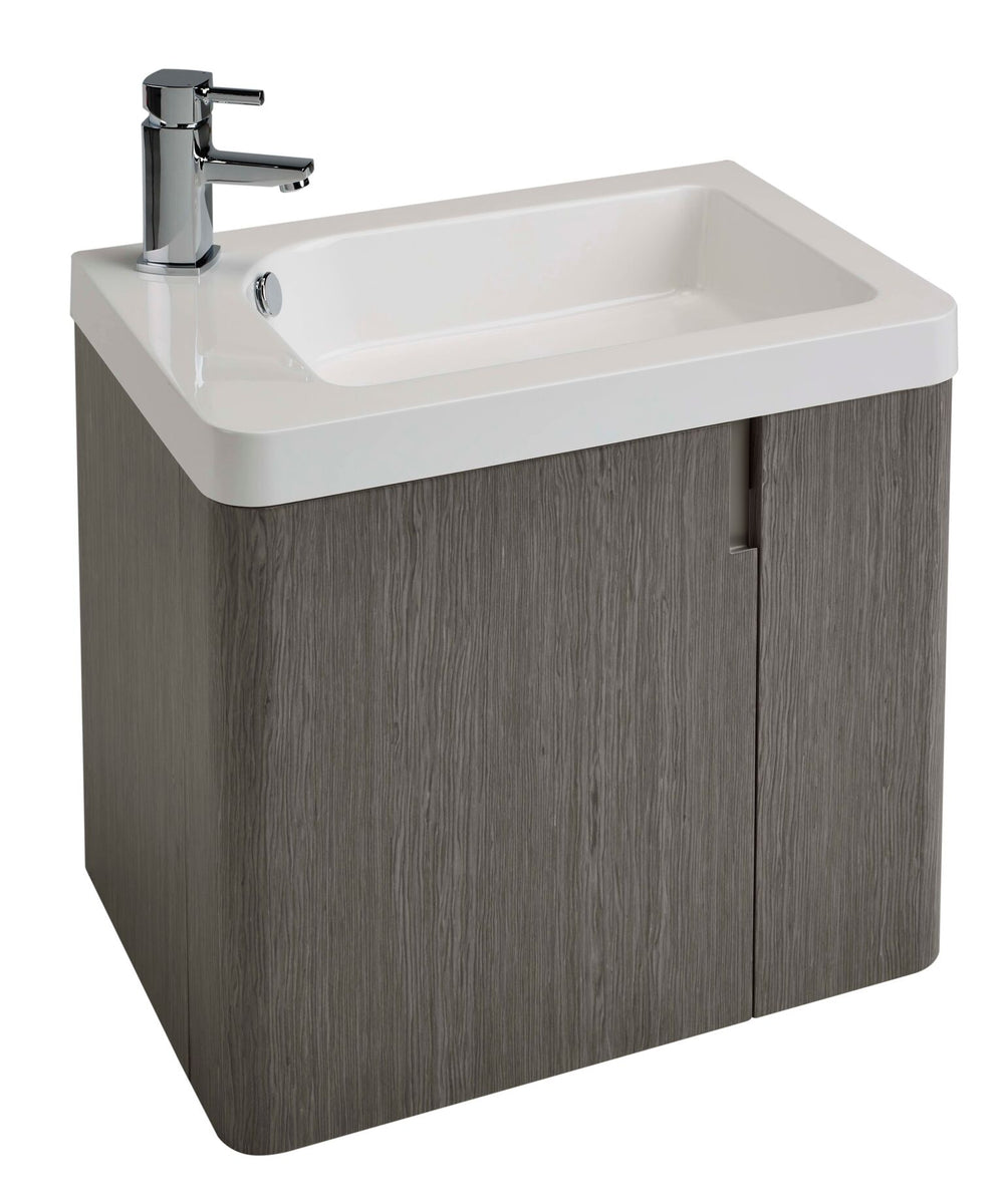 Cara 600 WH Basin Unit ASH GREY