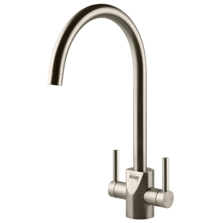 Roux Auxerre Filter Brushed Nickel