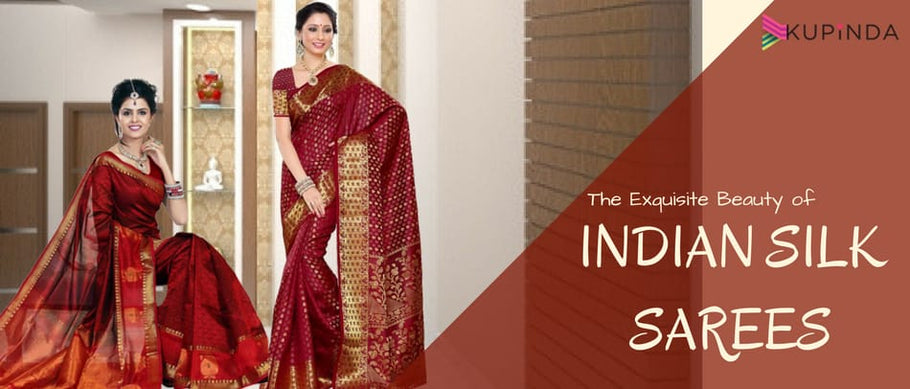 The Exquisite Beauty of Indian Silk Sarees