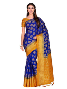 MIMOSA Art silk Saree With Unstiched Blouse