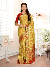MIMOSA Chiffon Saree With Unstiched Blouse