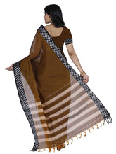 Mimosa cotton saree with unstiched blouse