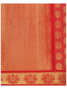 Mimosa Women's Silk Saree With Blouse Piece - kupindaindia