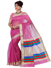 Mimosa net saree with unstiched blouse
