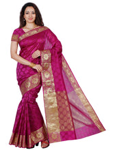 Mimosa orgenza saree with unstiched blouse