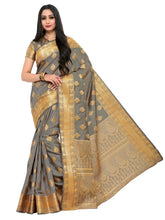 Mimosa uppada art silk saree with unstiched blouse