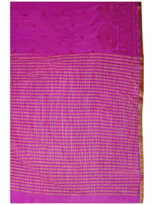 Mimosa women's chiffon saree with blouse