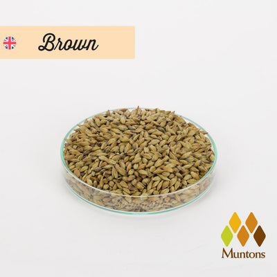 Muntons Brown Malt - Butikmatik