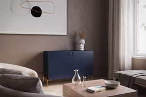 Sage Sideboard IKEA Besta Marie Design and Black Sara Legs