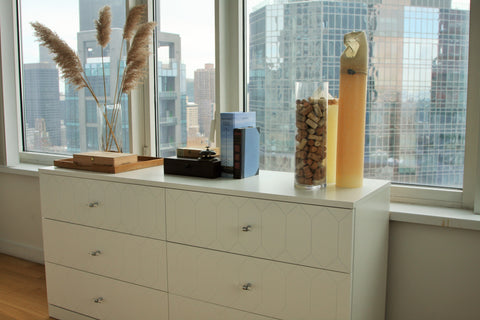 Customized IKEA Malm Dresser with Norse Interiors