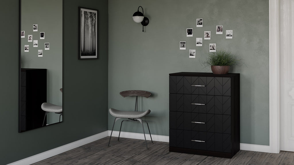 Malm dresser customized