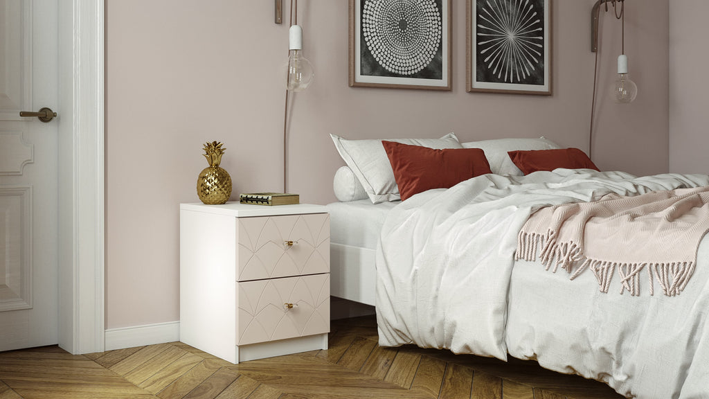 Customized IKEA Malm nightstand