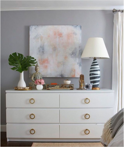 How To Style The Ikea Malm Dresser Norse Interiors