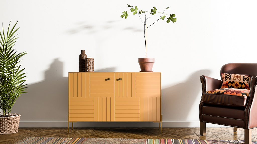 Storage Cabinet Marie Besta in Tanned Leather