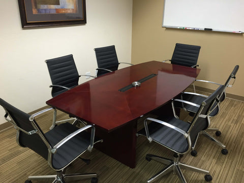 private office space conference room design