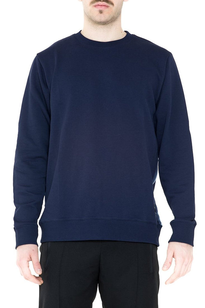 BRIIT Sweatshirt with Stripy Side Band Detail