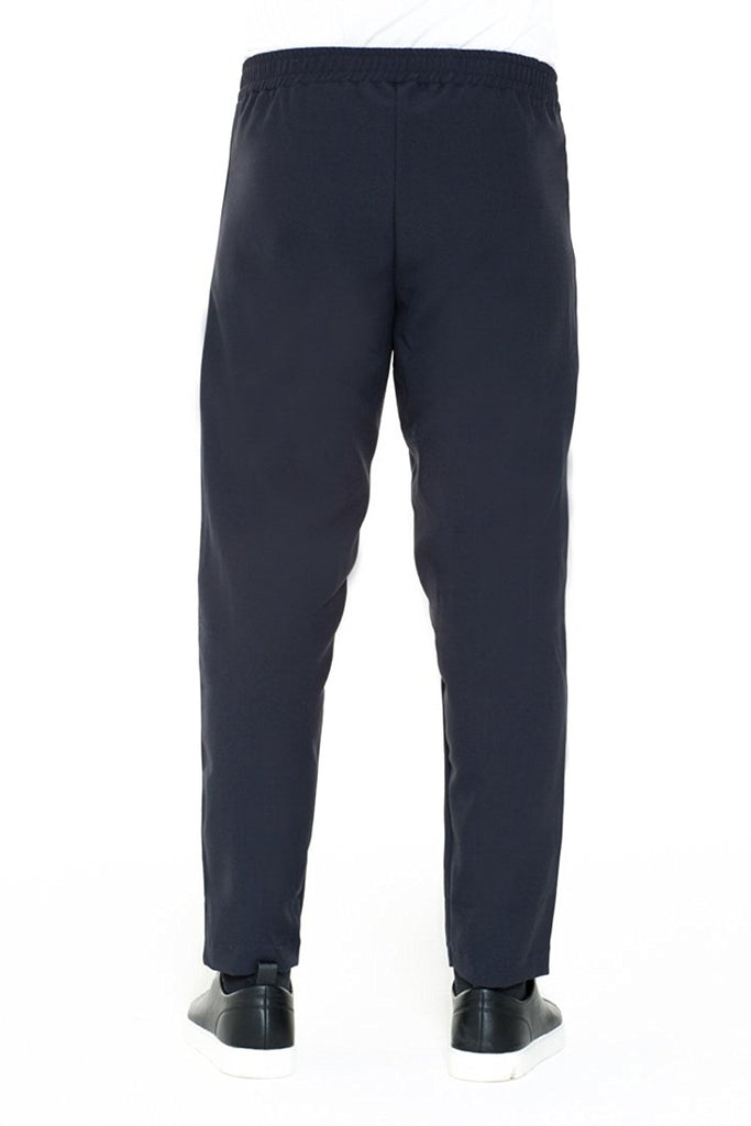 BRIIT Jogging Pants with Tuxedo Band Detail