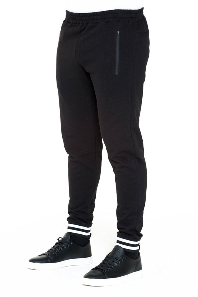 BRIIT Jogging Pants with Knitted Cuff Detail